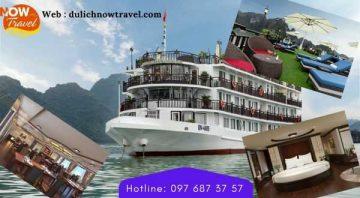 Du Thuyền Margaret Cruises 5 sao – Thăm Vịnh cùng Du lịch Nowtravel