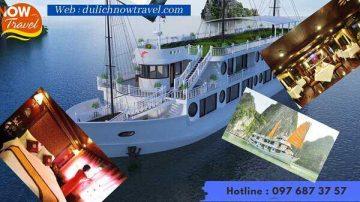 Du Thuyền Calypso 4sao – Khám phá Vịnh Lan Hạ Cát Bà