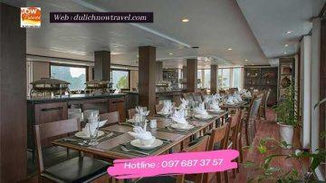 Nhà hàng du thuyền la vela