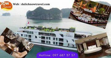 Du thuyền Era Cruises 5 sao Vịnh Lan Hạ – Cát Bà