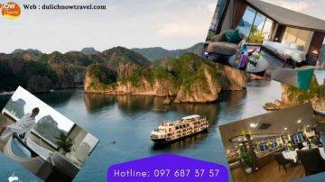 Du thuyền Mon Chéri Cruises 5 sao – Vịnh Lan Hạ, giá Ưu Đãi