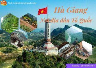 HÀ GIANG – Nơi địa đầu Tổ Quốc – 3 ngày 2 đêm