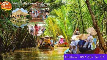 Du lịch MỸ THO – Về Miền Tây sông nước – 1 Ngày