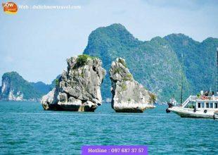 vịnh hạ long-hang sửng sôt -bãi biển ti tốp